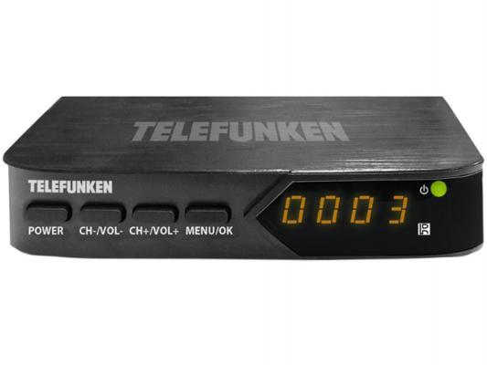 Тюнер цифровой DVB-T2 Telefunken TF-DVBT210 черный