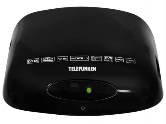 Тюнер цифровой DVB-T2 Telefunken TF-DVBT211 черный