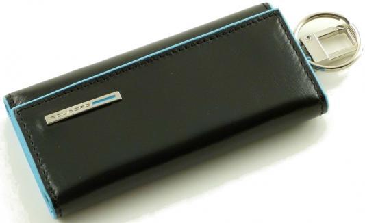 Ключница Piquadro Blue Square кожа синий PC1397B2/BLU2