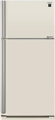 Холодильник Sharp SJXE55PMBE бежевый
