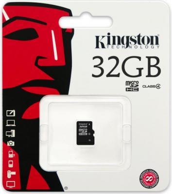 Карта памяти Micro SDHC 32GB Class 10 Kingston SDC10G2/32GBSP все цены