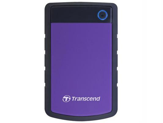 """Внешний жесткий диск 2.5"""" USB3.0 3 Tb Transcend StoreJet TS3TSJ25H3P фиолетовый все цены"""