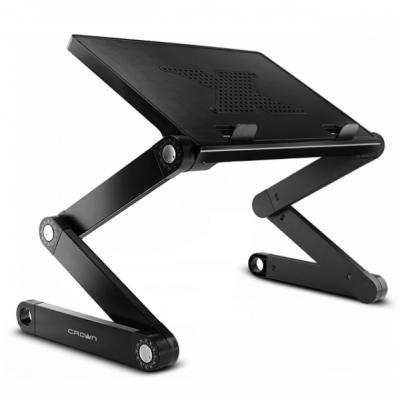 Столик для ноутбука до 15.6 Crown CMLS-102 алюминий/пластик стол подставка для ноутбука crown cmls 103 до 15 6 черная
