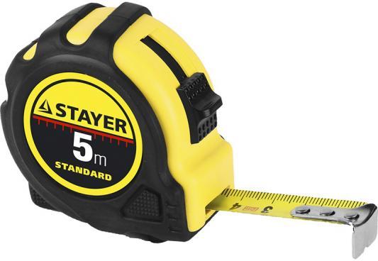 Рулетка Stayer Standard 34025-05 шнур stayer standard 5мм 700м 50421 05 700