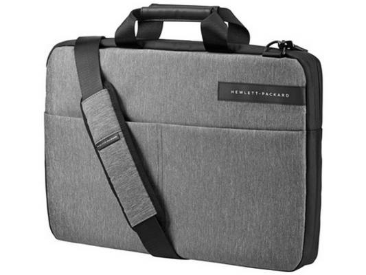 Фото - Сумка для ноутбука 17.3 HP Signature Slim Topload Signature серый T0E19AA сумка для ноутбука 14 hp spectre slim topload 1pd70aa замша полиуретан сплит кожа черный серый