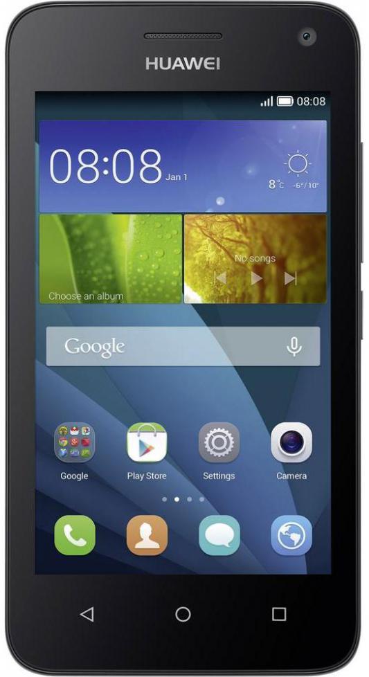 """Смартфон Huawei Ascend Y5 черный 4.5"""" 8 Гб LTE Wi-Fi GPS Y560-L01"""