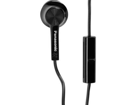 Гарнитура Panasonic RP-TCM105E-K черный гарнитура panasonic rp ht161 e k