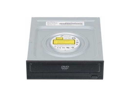 Привод для ПК DVD-ROM LG DH18NS61 SATA черный OEM привод для ноутбука blu ray lg bu40n sata черный oem