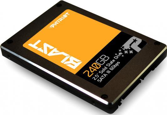 Твердотельный накопитель SSD 2.5 240GB Patriot Blast Read 560Mb/s Write 530Mb/s SATAIII PBT240GS25SSDR твердотельный накопитель 2 5 128gb patriot spark read 560mb s write 545mb s sataiii psk128gs25ssdr