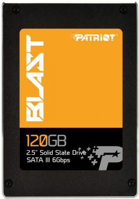 """Твердотельный накопитель 2.5"""" 120GB Patriot Blast Read 560Mb/s Write 425Mb/s SATAIII PBT120GS25SSDR"""