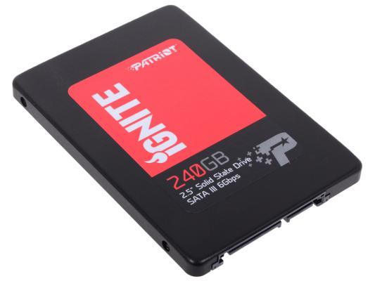 """Твердотельный накопитель 2.5"""" 240GB Patriot Ignite Read 560Mb/s Write 405Mb/s SATAIII PI240GS325SSDR"""