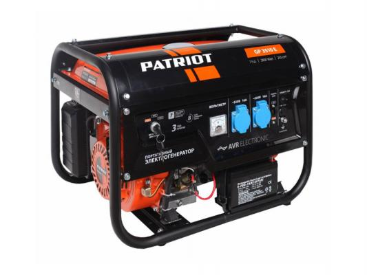 Генератор Patriot GP 3510E бензиновый генератор бензиновый patriot gp 3810le