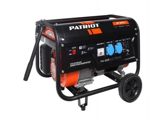Генератор Patriot GP 3810L 7 л.с бензиновый генератор бензиновый patriot gp 3810le
