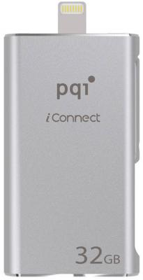 Флешка USB 32Gb PQI iConnect серебристый 6I01-032GR1001