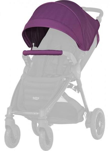 Купить Капор для детской коляски Britax B-Agile/B-motion (mineral lilac), Защита от солнца