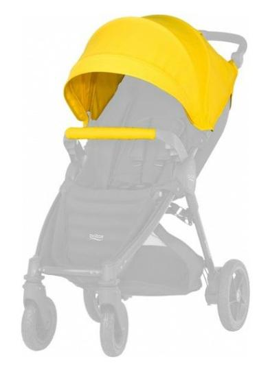 Капор для детской коляски Britax B-Agile/B-motion (sunshine yellow) wltoys a959 b 13 540 motor 1 18 a959 b a969 b a979 b rc car part