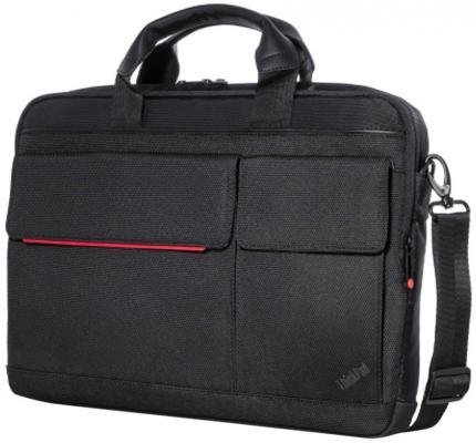 "все цены на Сумка для ноутбука 14.1"" Lenovo Professional Slim Topload Case черный 4X40H75820 онлайн"