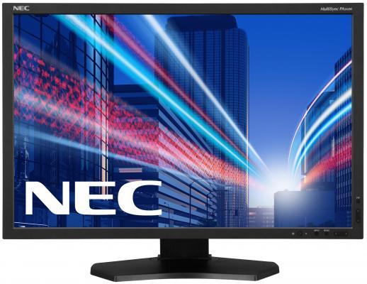 Монитор 24 NEC PA242W-SV2 монитор 24 1 nec pa242w sv2 silver ah ips led 1920x1200 8ms vga dvi hdmi displayport