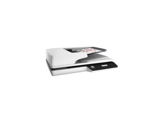 Сканер HP ScanJet Pro 3500 f1 L2741A A4 планшетный CIS 1200x1200dpi USB hp hp scanjet pro 3500 f1