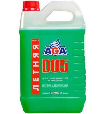 Фото - Жидкость летняя омывателя стекла AGA 110 D 4л жидкость для омывателя стекла liqui moly kristallglas летняя 4л 35001
