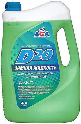 Незамерзающая жидкость AGA 079 D 4л незамерзающая жидкость aga 079 d 4л