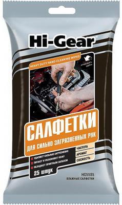Салфетки Hi Gear HG 5585 салфетки hi gear hg 5583 освежающие