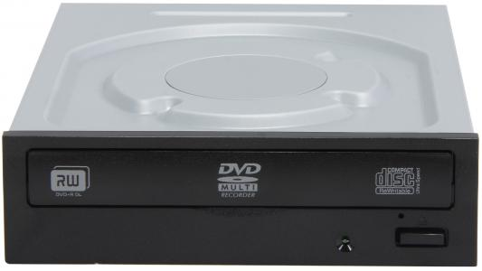 Привод для ПК DVD±RW Lite-On IHAS124-14 SATA черный OEM привод для ноутбука dvd±rw lg gtc0n sata черный oem