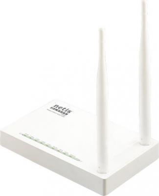 Беспроводной маршрутизатор Netis DL4323 802.11bgn 300Mbps 2.4 ГГц 4xLAN RJ45 белый