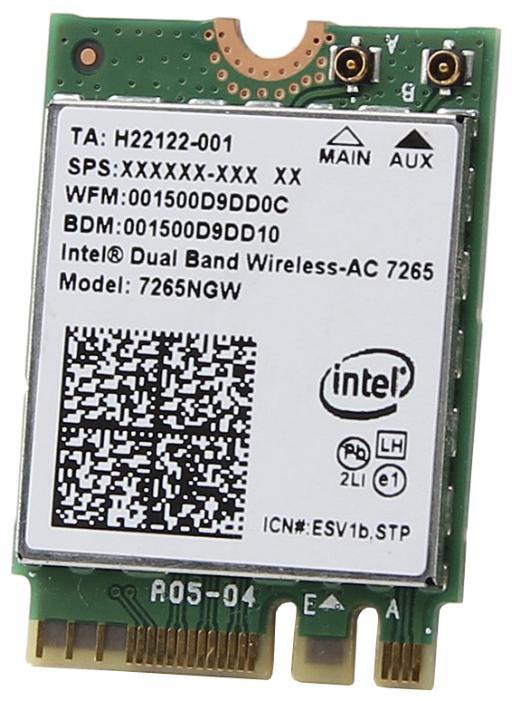 Адаптер Intel 7265.NGWG.W 939155