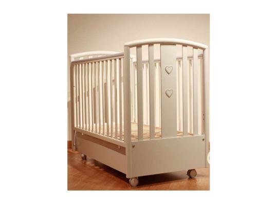 Кроватка с маятником Pali Lisa (магнолия) кроватка качалка pali principe prestige магнолия