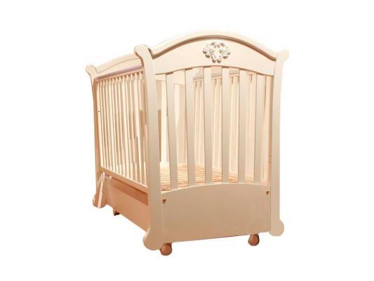 Купить Кроватка с маятником Pali Angelica (магнолия), бежевый, бук, Кроватки с маятником