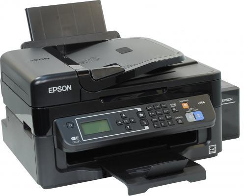 МФУ Фабрика печати Epson L566 цветное А4 33/15ppm 5760x1440dpi Ethernet USB Wi-Fi C11CE53403