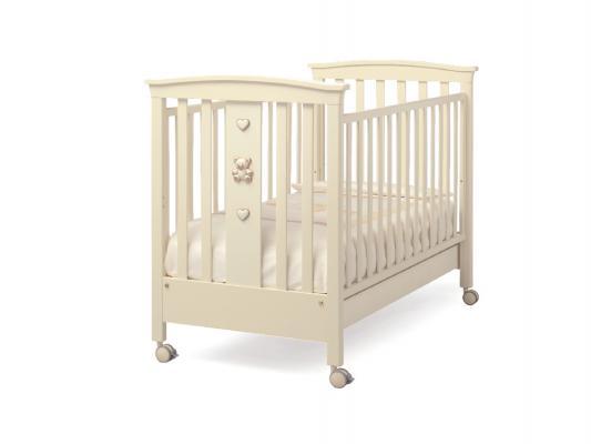 Кроватка Erbesi Jolie (слоновая кость)