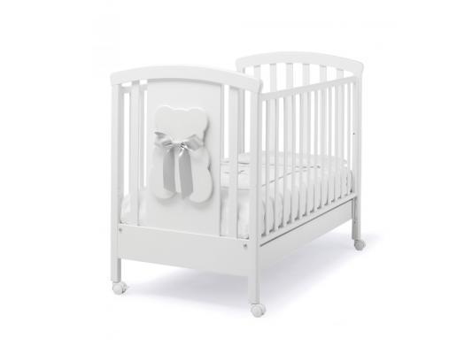 Купить Кроватка Erbesi Bubu (белый/белый), бук, Кроватки без укачивания
