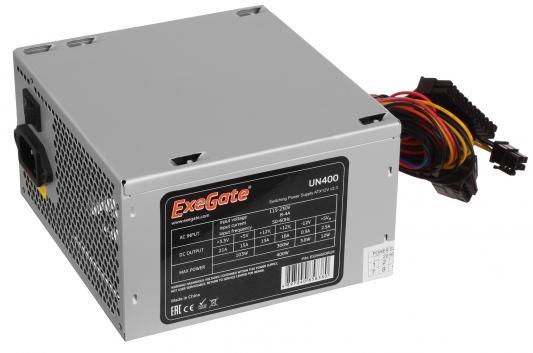 БП ATX 400 Вт Exegate UN400 EX244553RUS бп atx 430 вт deepcool explorer de430