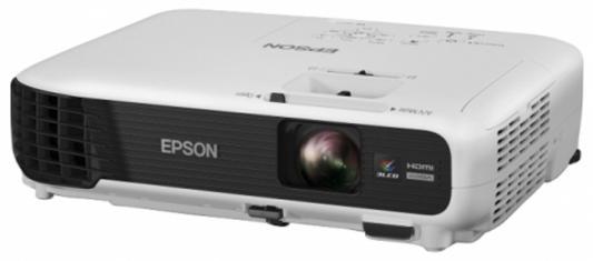 Проектор Epson EB-W04 LCDx3 1280x800 3000ANSI Lm 15000:1 VGA HDMI S-Video USB V11H718040
