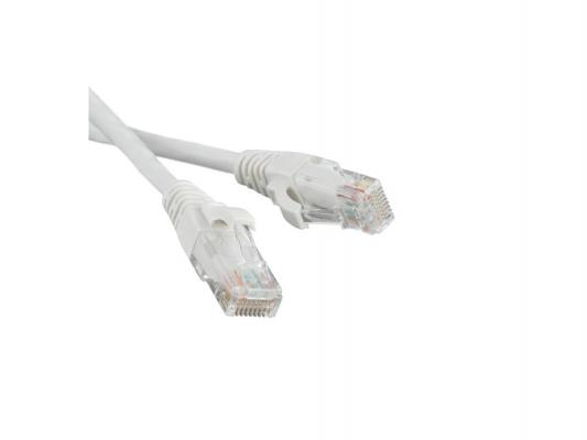Патч-корд UTP 5E категории 2.0м Hyperline PC-LPM-UTP-RJ45-RJ45-C5e-2M-LSZH-WH белый