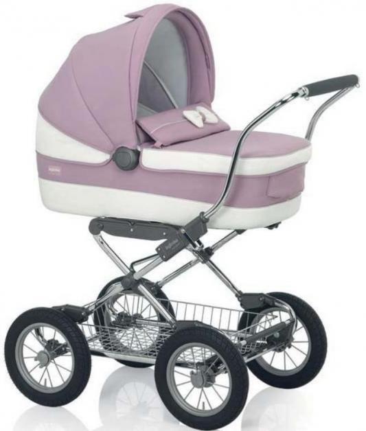 Коляска для новорожденного Inglesina Vittoria на шасси Ergobike/Slate (AB10E6BTL+AE15E6100)