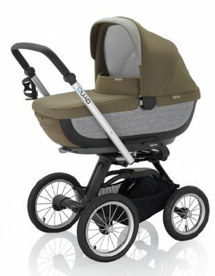 Купить Коляска для новорожденного Inglesina Quad на шасси Quad XT Black (AB60F6FRS + AE64G0000)