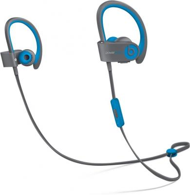 Bluetooth-гарнитура Apple Beats Powerbeats 2 WL Active Collection серый голубой