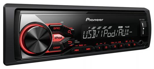 Автомагнитола Pioneer MVH-180UB USB MP3 FM RDS 1DIN 4x50Вт черный
