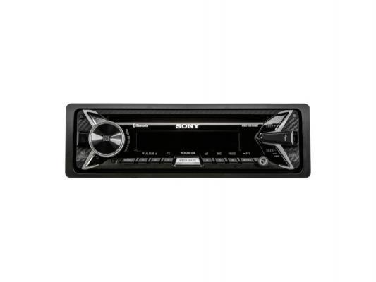 Автомагнитола SONY MEX-XB100BT USB MP3 CD FM RDS 1DIN 4x100Вт черный
