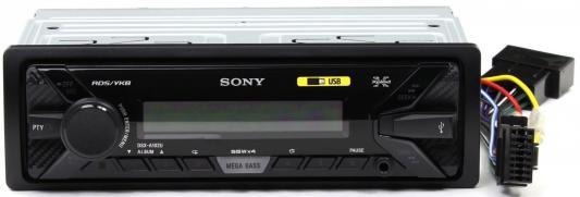 Автомагнитола SONY DSX-A102U USB MP3 FM RDS 1DIN 4x55Вт черный