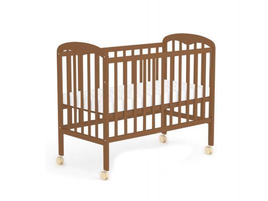Кроватка-качалка Фея 323 (орех)
