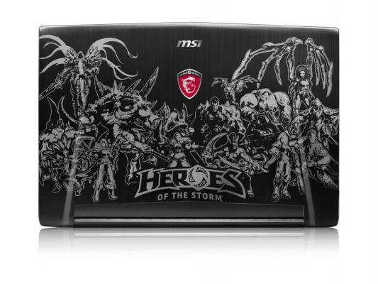 Ноутбук MSI GT72S 6QD-204RU 9S7-178211-204 (Intel Core i7-6820HK 2.7 GHz/16384Mb/1000Gb + 256Gb SSD/DVD-RW/nVidia GeForce GTX 970M 3072Mb/Wi-Fi/Bluetooth/Cam/17.3/1920x1080/Windows 10 64-bit)