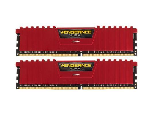Оперативная память 8Gb (2х4Gb) PC4-17000 2133MHz DDR4 DIMM Corsair CMK8GX4M2A2133C13R оперативная память 8gb pc4 17000 2133mhz ddr4 dimm dell 370 ackw
