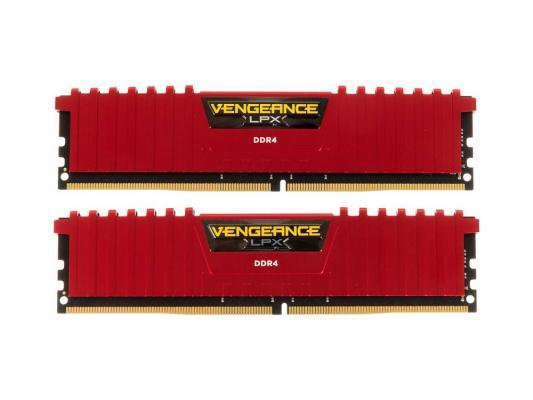 Оперативная память 16Gb (2x8Gb) PC4-19200 2400MHz DDR4 DIMM Corsair CMK16GX4M2A2400C14R
