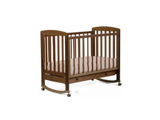 Кроватка-качалка Лель Ромашка АБ 16.1 (орех светлый) кроватка качалка лель ромашка аб 16 0 белый
