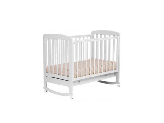 Кроватка-качалка Лель Ромашка АБ 16.1 (белый)