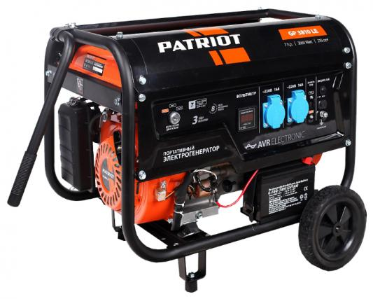 Генератор Patriot GP 3810LE 7 л.с бензиновый генератор бензиновый patriot gp 3810le